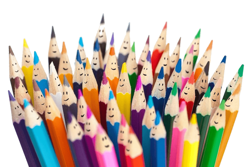 Coloured Pencils - Our Aims